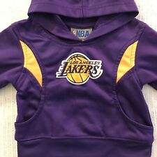New listing LOS ANGELES LAKERS (NBA) == Infant Zip Up Hoodie  w/logo 2T