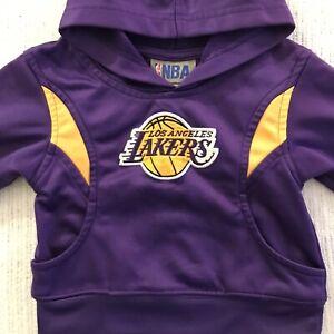 LOS ANGELES LAKERS (NBA) == Infant Zip Up Hoodie  w/logo 2T