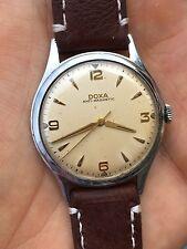 1950s Doxa Swiss Mens Vintage Dress Watch