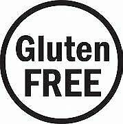 GLUTEN FREE STICKERS 37MM DIA Round Self Adhesive  LABELS
