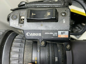 """Canon J20ax8B4 IRS 2/3"""" B4 mount Broadcast Lens with 2x Extender"""