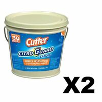 Cutter CitroGuard Bucket Candle 17 Ounce Citronella Insect Repellent (2-Pack)