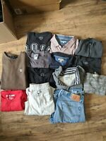 Mens Assorted Clothing Lot Multiple Colors Multiple Sizes M-XXL