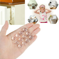 24PC Table Chair Leg Silicone Caps Pads Anti Slip Shock Absorber For Furniture