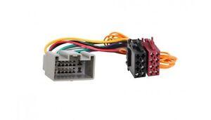 Landrover Defender 2 Discovery 4 Conector de Cable Del Adaptador Radio Coche Iso