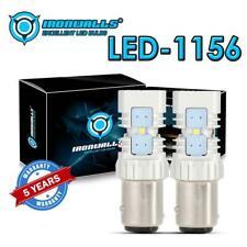 3sided 1157 8W LED Turn Brake Bulb Tail Back Up Reverse Stop Light P21/5W BA15D