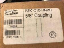 "Parker ZoomLock PZK-C10-HNBR 5/8"" Coupling, Box Of 10"