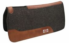 Western Show Trail Saddle Adult Pad 32x31 BROWN Mohair wool Felt Shock Absorbng