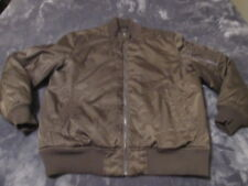 VINTAGE MENS STRUCTURE BOMBER FLIGHT JACKET COAT SIZE LARGE GREAT SHAPE RARE