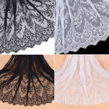 3 Meters Eyelash Lace Fabric Embroidery Material Handmade DIY Cloth Accessories