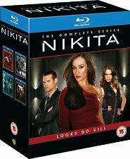 Nikita Season 1 2 3 4 13er [Blu-ray] [Region Free] *NEU* Staffel Series 1-4