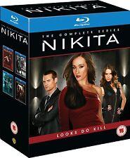 Nikita Season 1 2 3 4 13er [Blu-ray] [Région Free] * NOUVEAU * saison Series 1-4