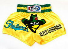 Fairtex Muay Thai Boxing Shorts Satin Bs0640 Mma K1 Fighting Kick Martial Hunter