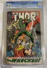 1968 Marvel Thor #148 CGC 9.2 First Appearance Of Wrecker and Origin Of Blackbol
