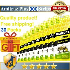 300 Strips Amitras Plus Strips Beekeeping Prevention of Varroatosis Varroa
