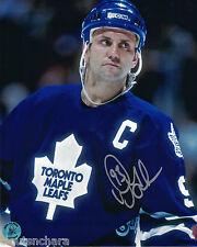 Doug Gilmour Toronto Maple Leafs Autographed 8 x 10 Photo With COA By AJ's