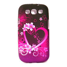 Soft Case For Samsung Galaxy S3 - Flower 1