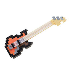 Electric Bass Guitar Nanoblock Miniature Building Blocks New Sealed Pk NBC 051