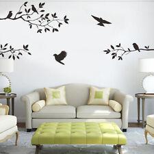 Tree & Bird Removable Wall Sticker Vinyl Art Decal Mural Window Room DIY D BSC