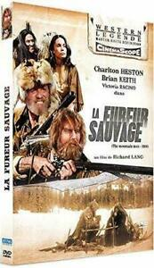 "DVD ""LA FUREUR SAUVAGE"" Charlton Heston NEUF SOUS BLISTER"