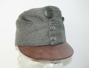 AUSTRIAN AUSTRO HUNGARIAN ARMY WW1 REPRO FIELD GREY CAP HAT Sz58 (7 1/4 US) FJI