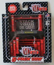 M2 Auto-Lift 5 Packs - stackable storage system for most 1/64 cars & Hot Wheels