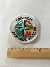 Chevrolet Patch Embroidered , Vintage RV Patch