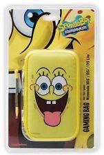 Nintendo 3DS DSi DS Lite * NEW Official SPONGEBOB SQUAREPANTS Case & Stylus Set