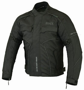 Mens Motorbike Motorcycle CJ3 RIDEX Jacket Windproof / Waterproof With CE Armour