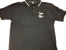 Official Guiness Ireland Dublin Black Men's Polo Shirt Tucan Bird Sz XXL