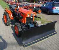 Schneeschild 1,40m 140cm Kubota Iseki Yanmar Schneeschieber Räumschild Traktor