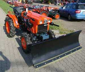 Schneeschild Schneeräumschild 118cm für Kubota Kleintraktor Traktor