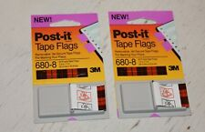 Post It Tape Flags 680 8 Purple Office Supply New Lot Of 12 Bookmark School