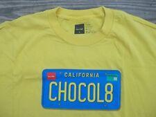 Cool Summer CALIFORNIA CHOCOLATE (CHOCOL8) License Plate T-Shirt XL