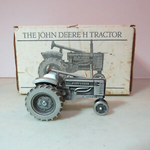 "SpecCast John Deere ""H"" Tractor PEWTER  1/64 JD-JDM-005-B"