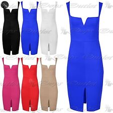 Unbranded V Neck Wiggle, Pencil Dresses for Women
