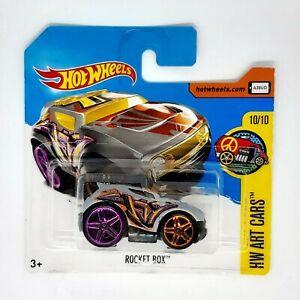Hot Wheels Rocket Box Modellino Auto Automobile Serie Art Cars 10/10 Die-Cast
