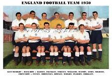 ENGLAND FOOTBALL TEAM 1950 (RAMSEY/STRETEN/FINNEY)