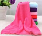 Big Absorbent Microfiber Bath Beach Towel Drying Washcloth Swimwear Shower