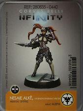 Infinity: Aleph: Nesaie Alkê, Thorakitai Warrant Officer (Spitfire) (280835) NEW
