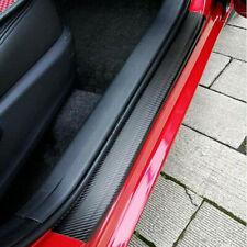Parts Accessories 2020 Car Door Sill Protector Carbon Fiber Stickers Scraper Fits Isuzu