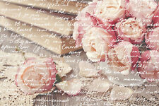 BEAUTIFUL SHABBY CHIC CANVAS PICTURE #7 STUNNING FLORAL HOME DECOR A1 CANVAS