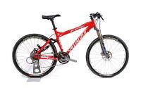 """Specialized Epic Disc FSR 26"""" Mountain Bike 3 x 9 Speed XTR Roval FOX M / 17.5"""""""