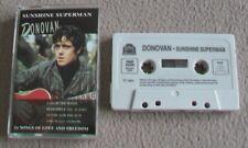 DONOVAN - SUNSHINE SUPERMAN music cassette tape
