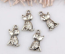 15pcs zinc alloy dog pendants 18x10mm 1A1537