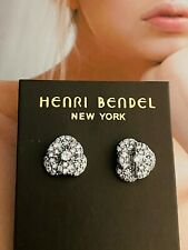 Henri Bendel Silver Stud Earrings