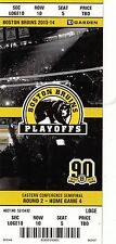 2014 BOSTON BRUINS VS MONTREAL CANADIENS PLAYOFFS GAME #5 TICKET STUB