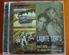 Laurie Lewis Guest House/The Golden West 2-CD NEW SEALED 2013 Country Tom Rozum
