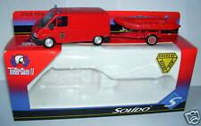 Solido Toner Gam II Renault Traffic Firefighters Zodiac 1/50 in Box