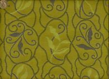 Maharam Balustrade Leek Mid Century Modern Floral Periwin Lime Upholstery Fabric